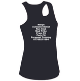 #mrptexperience Womens Cool Contrast Vest White&Navy/Fire Red&Black/Red&White
