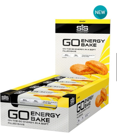 NEW Go Energy bake bars Lemon - MySports and More