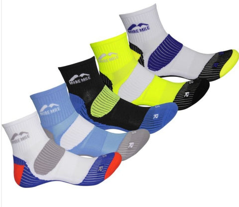 More mile London 5 pack running socks