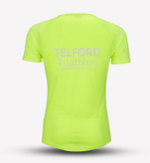 Neon Yellow Mens Telford Tri Recycled Tech Tee
