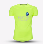 Neon Yellow Mens Telford Tri Recycled Tech Tee - MySports and More