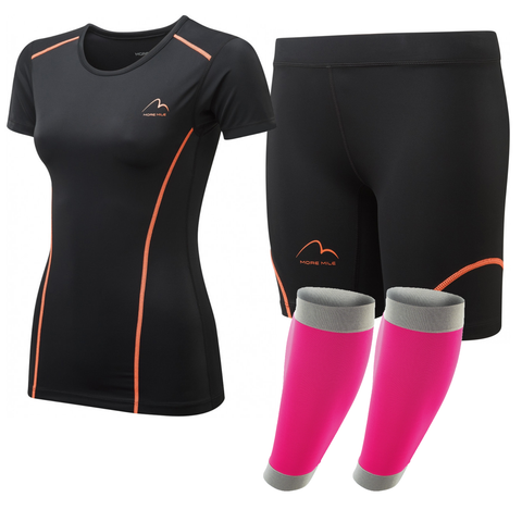 Womens Compression Short Sleeve Set