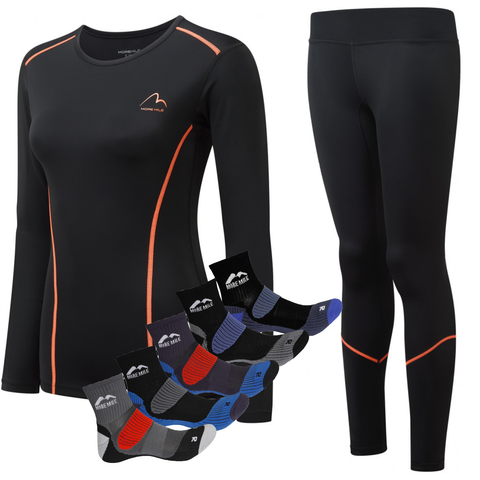 Womens Compression Long Sleeve Set