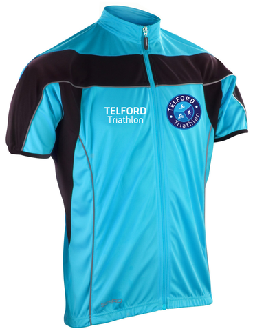 Telford Tri Unisex Bikewear Short Sleeve Performance Top - MySports and More