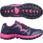 Cheviot 4 the Best Trail Shoe in Pink and Navy