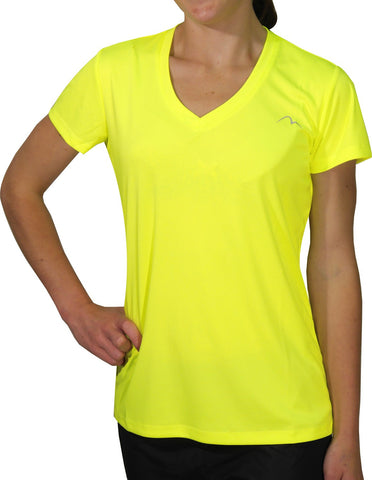 More Mile M-Tech Dry Girls Short Sleeve Running Top