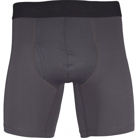 More Mile 7 Inch Mens Boxer Short - Dark Grey - MySports and More