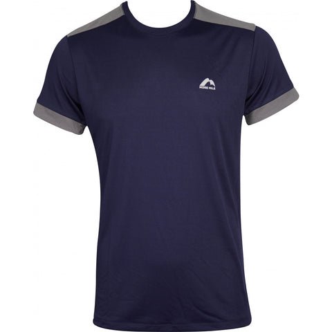 More Mile Action Mens Short Sleeve Running Top - Blue