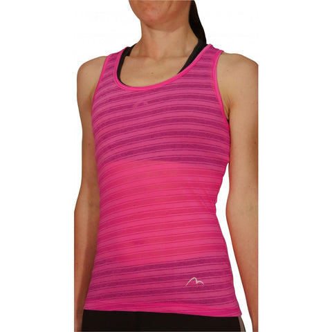More Mile Breathe Ladies Training Vest Pink