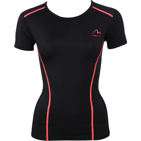 More Mile Compression Ladies Short Sleeve Top