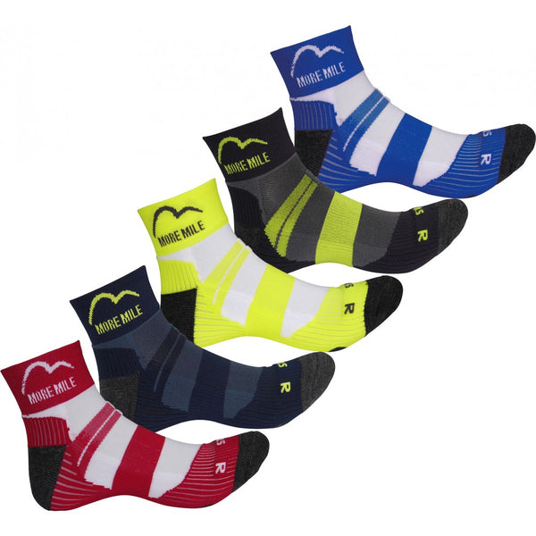 More Mile Endurance (5 Pack) Ladies Running Socks