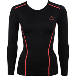 More Mile Compression Ladies Long Sleeve Top
