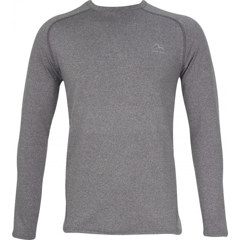 Grey Long Sleeve Running Top