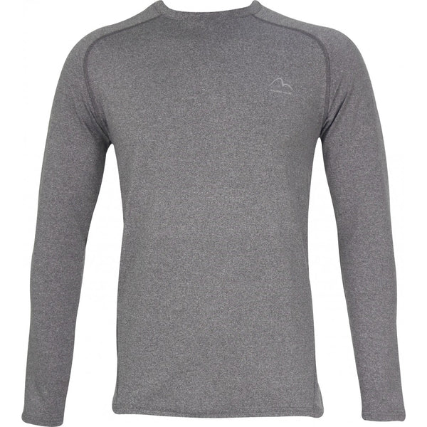 More Mile Train To Run Mens Long Sleeve Running Top