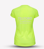 Neon Yellow Womens Telford Tri Recycled Tech Tee