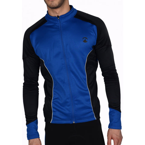 Piu Miglia Thermal Long Sleeve Mens Cycling Jersey
