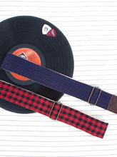 The Django Strap - Lal Black Checks