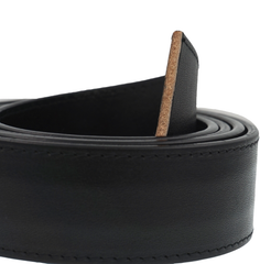 Men's Premium Lifetime Heavy Duty Solid Full Grain Leather Slide Ratchet Belt