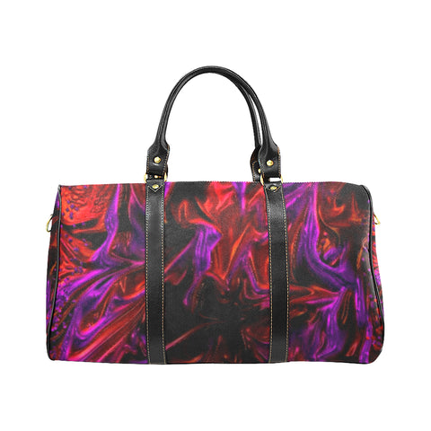 Purple Fire  large New Waterproof Travel Bag/Large (Model 1639)