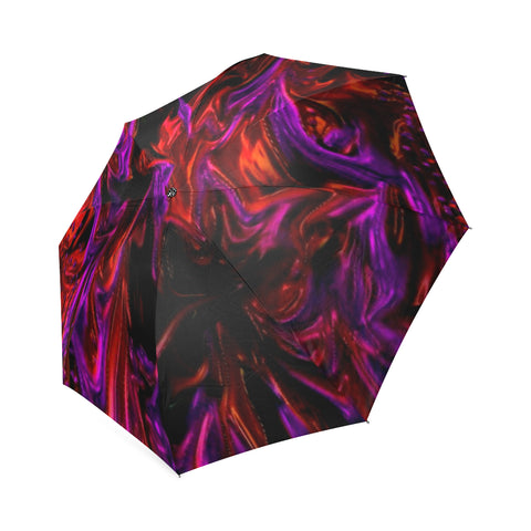 Purple_Fire Umbrella  Foldable Umbrella