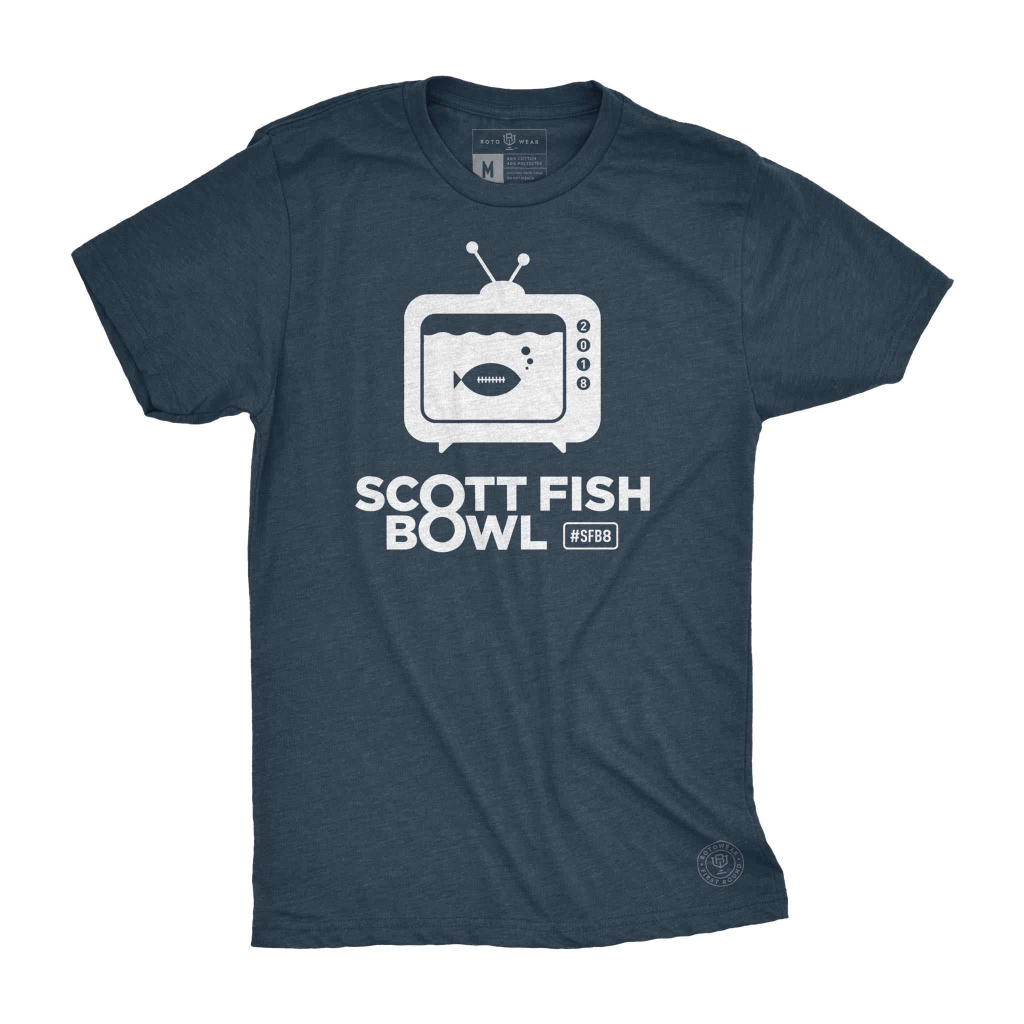 7f2971b4c75 ... SFB8 men's t-shirt by RotoWear for fantasy football managers is the official  shirt of ...
