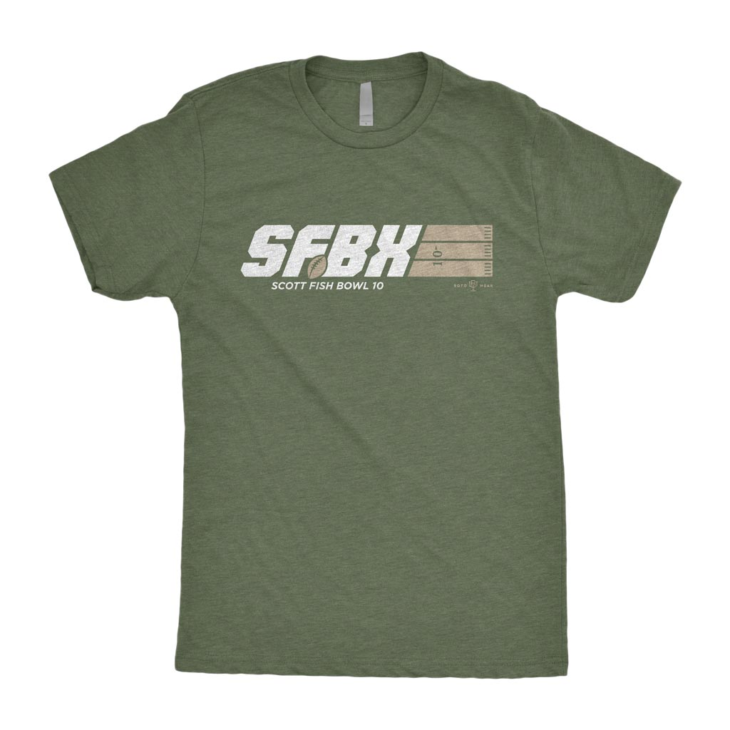 SFBX Fantasy Football Hero Shirt | Scott Fish Bowl x RotoWear Fantasy Football Design