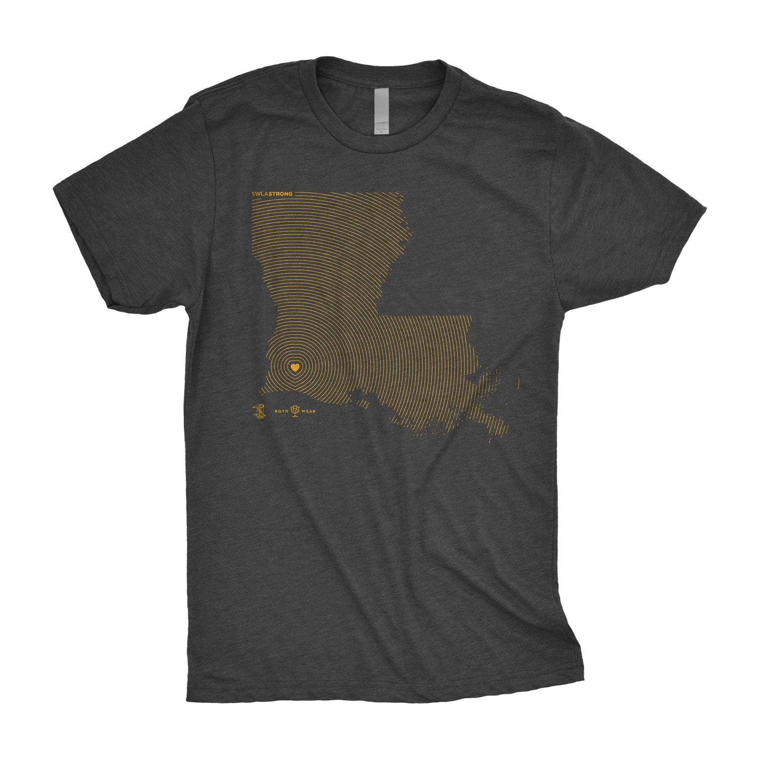 SWLA Strong Shirt | Wade LeBlanc Southwest Louisiana Hurricane Laura Relief RotoWear
