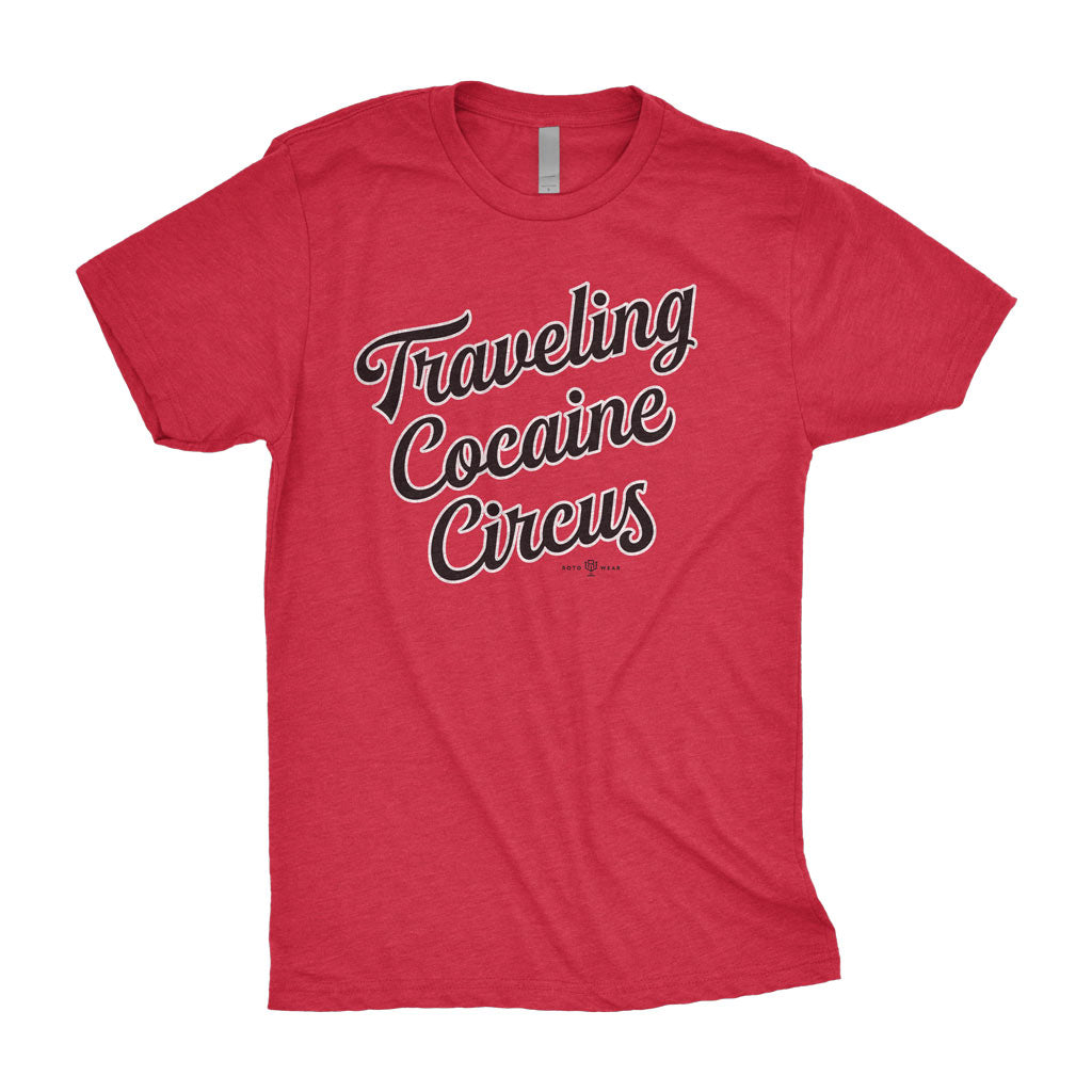 Traveling Cocaine Circus Shirt | The Last Dance Chicago Basketball RotoWear Design