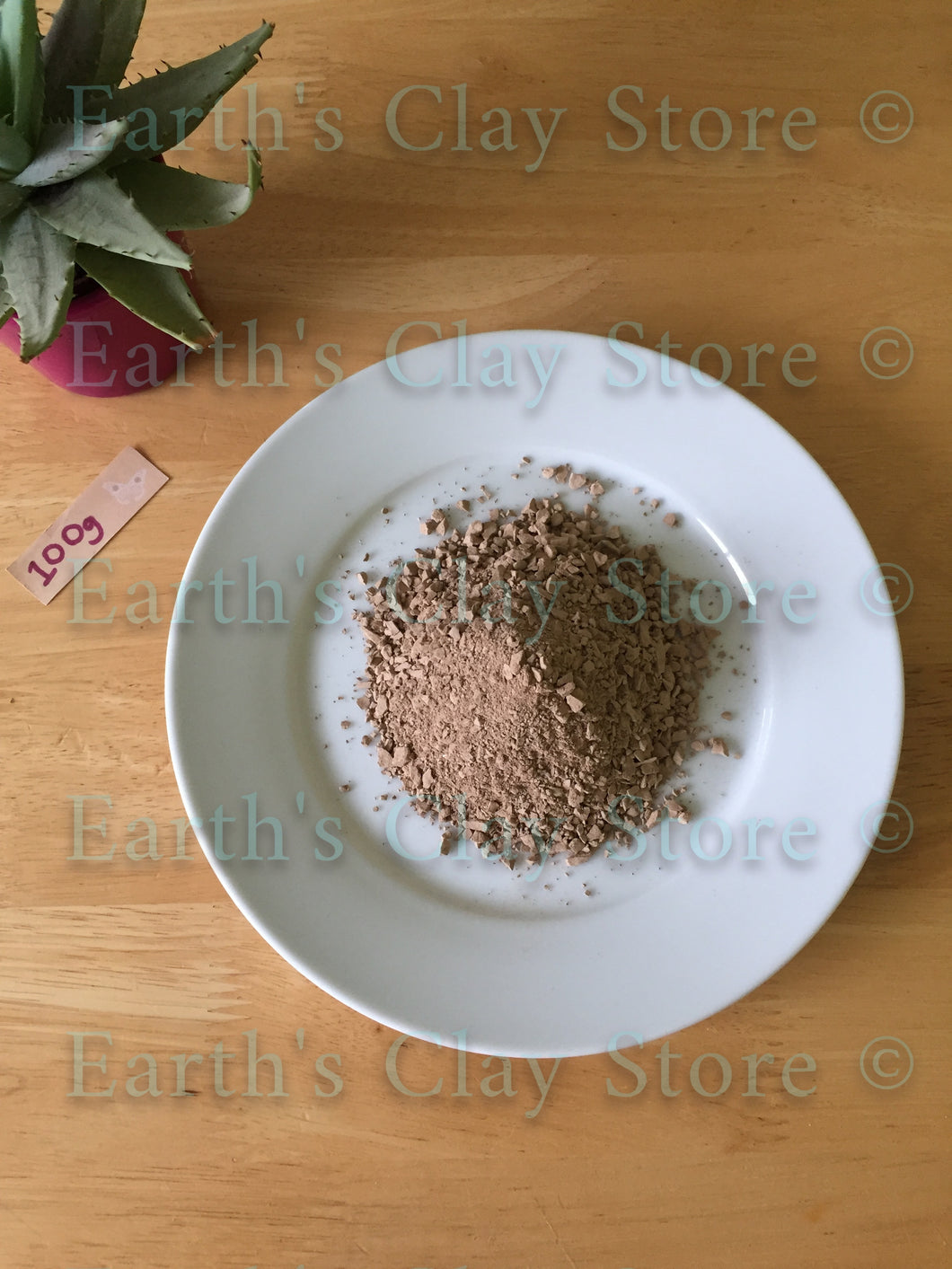 Uzbek Brown Salty Clay Crumbs