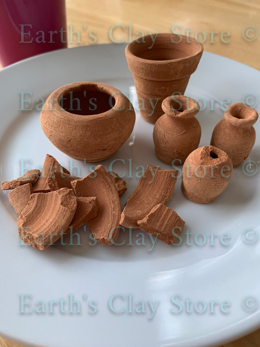 Small Mexican Clay Pots