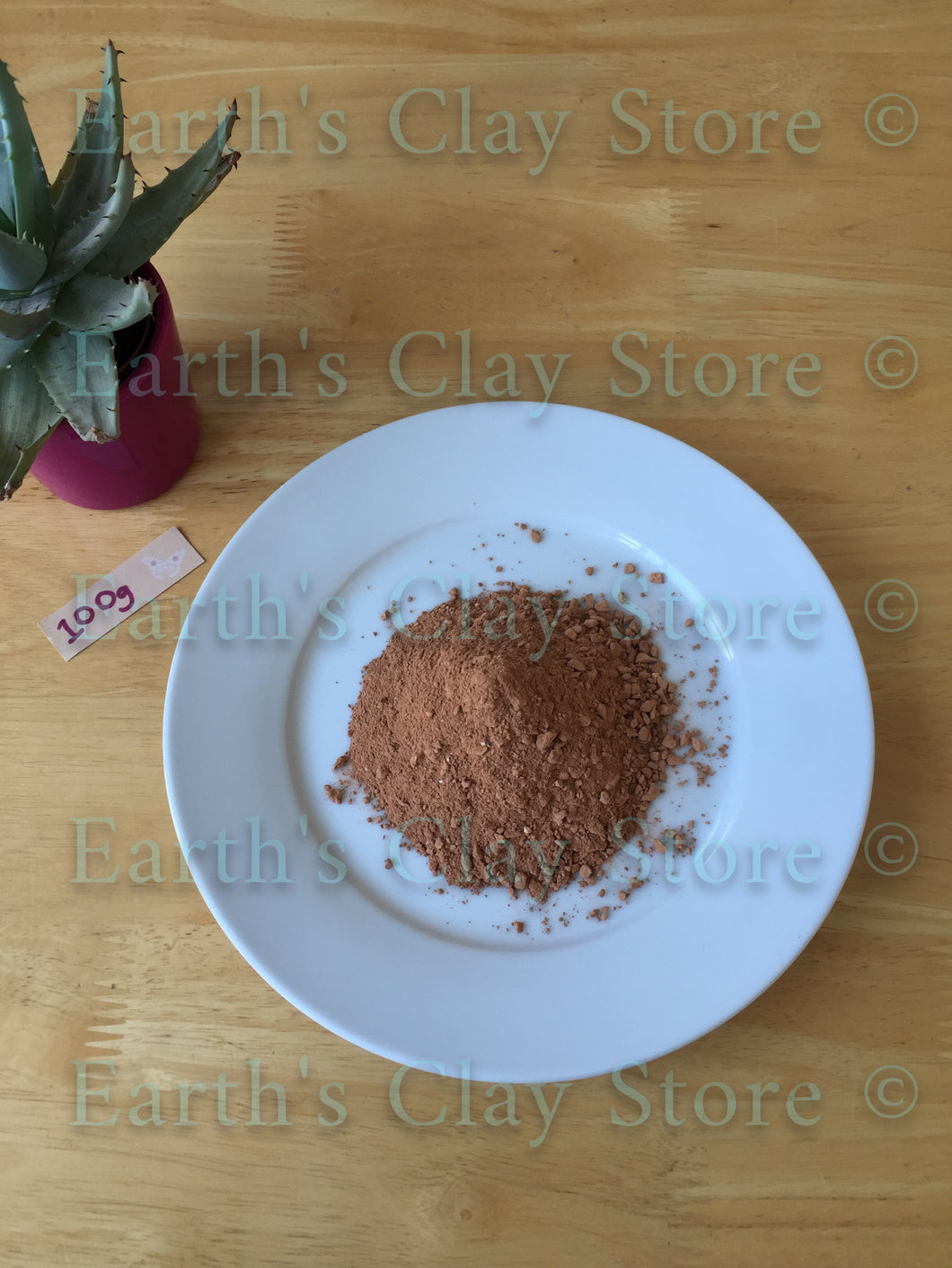 Chinese Loess Red Clay Crumbs