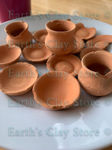 Mexican Clay Pots - Mini