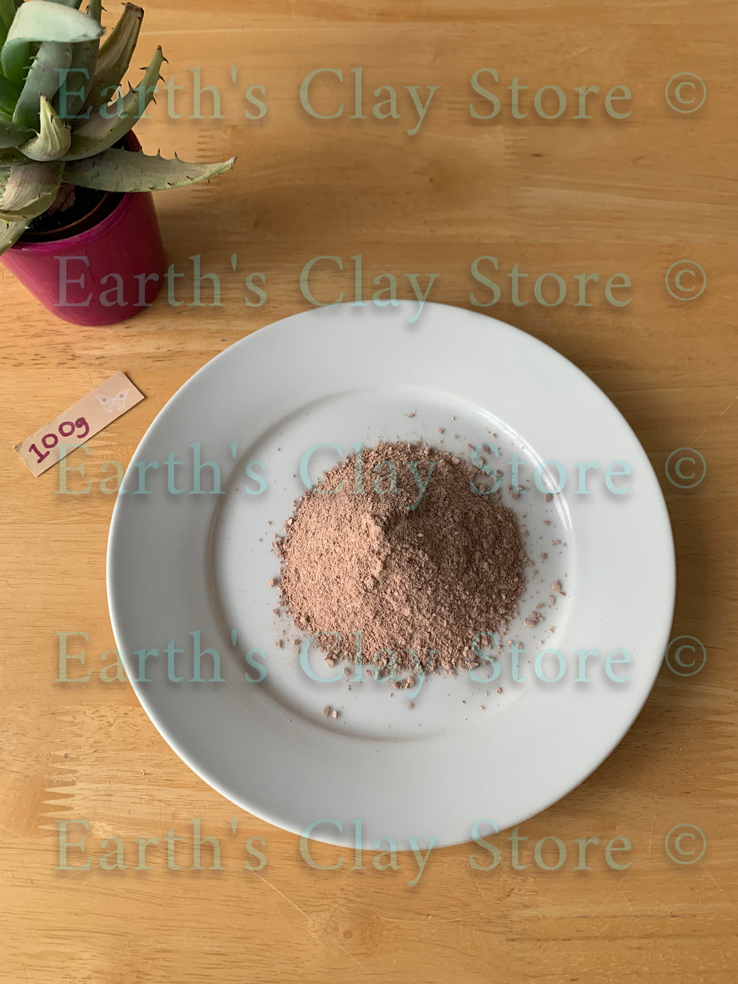 Rose Slate Pencil Crumbs