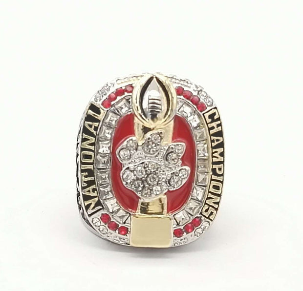 ncaa p football ring tigers clemson rings acc championship