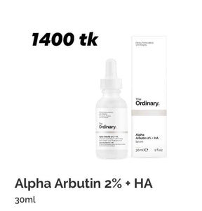 the ordinary Alpha Arbutin 2%+HA