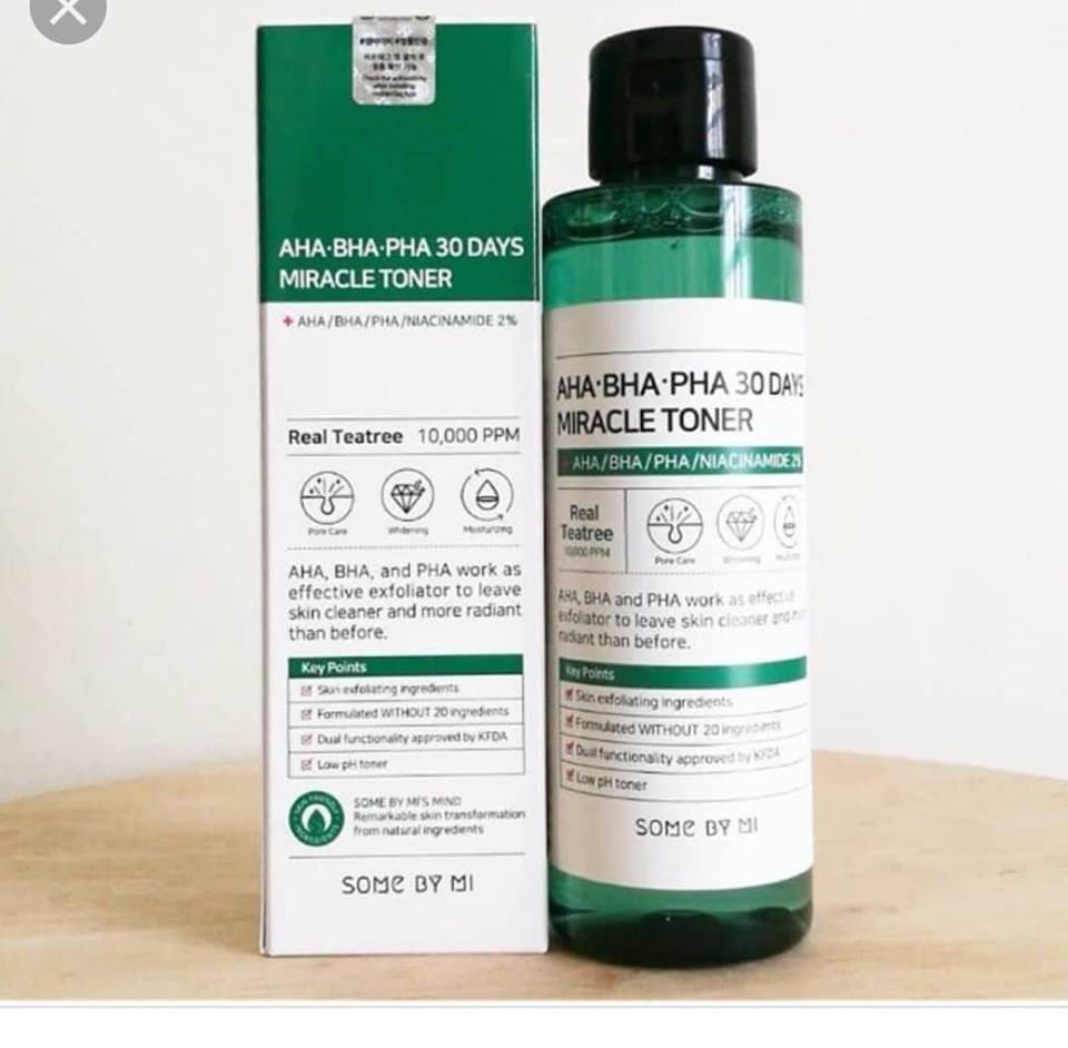 AHA BHA PHA 30days miracle toner