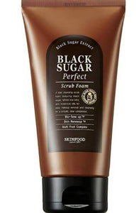 Skin food black sugar scrub foam