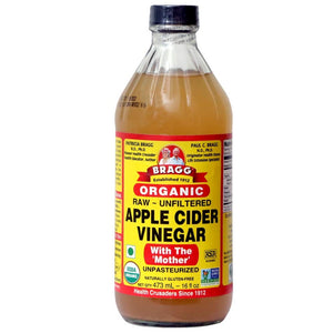 Braggs organic Apple cider vinegar with the Mother  473 ml