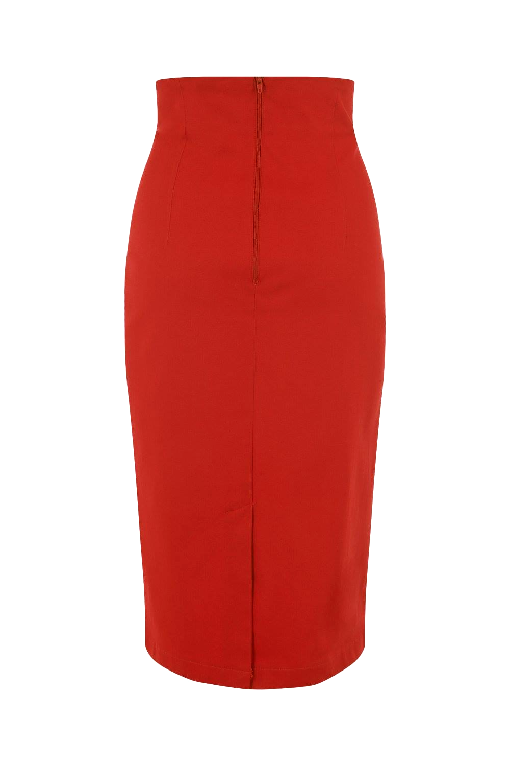 The Joanie Pencil Skirt in retro red by Ponyboy Vintage Clothing!