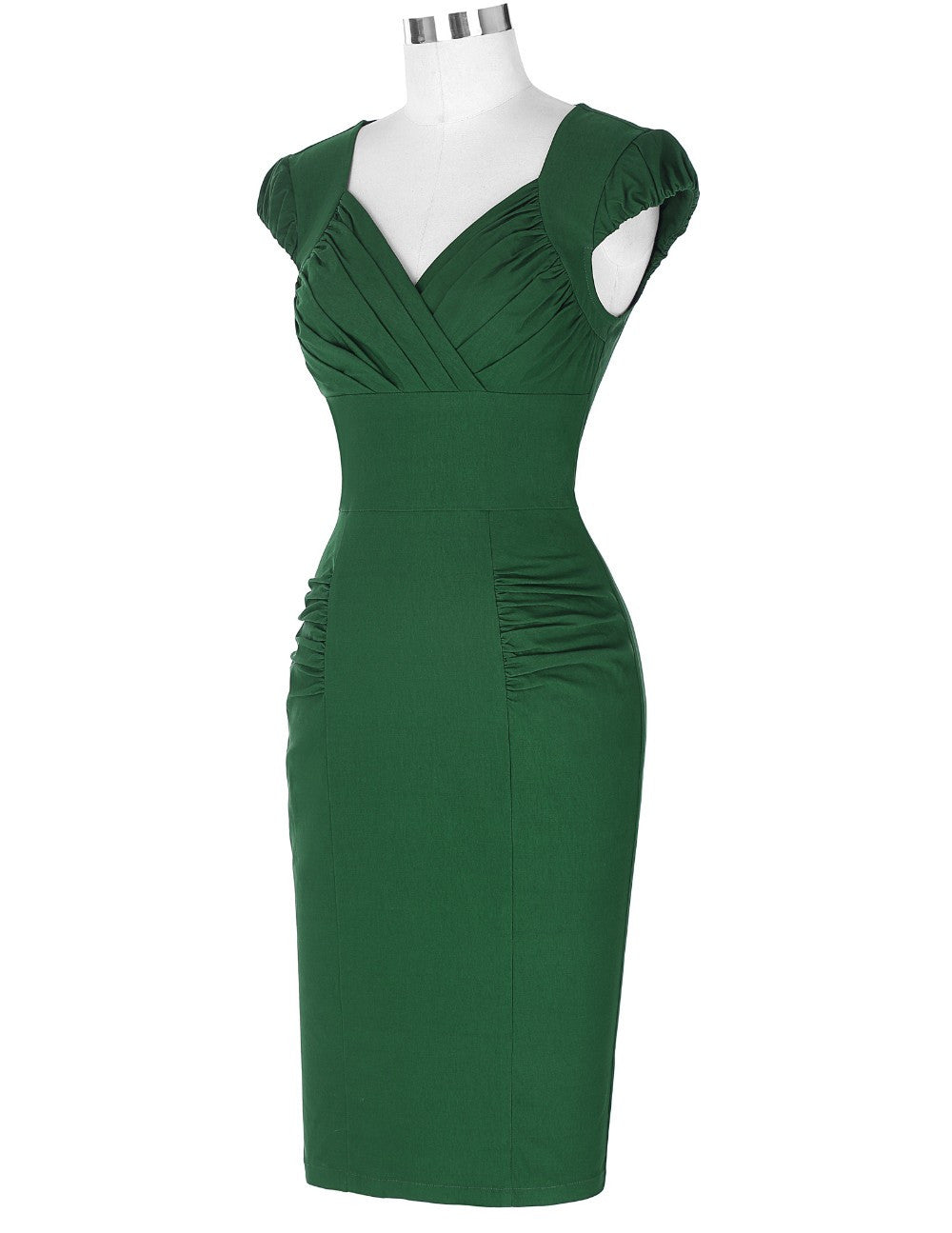 The Serena Wiggle Dress by Ponyboy Vintage Clothing!
