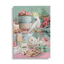 The Lavish Tea Party Hard Cover Notebook.