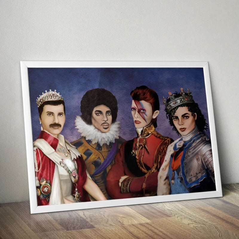 Music Royalty Poster by Lilly Perrott