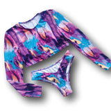 Wild West 2 Piece Bikini Long Sleeve