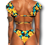 Tropical Bae 2 Piece Bikini Floral Printed