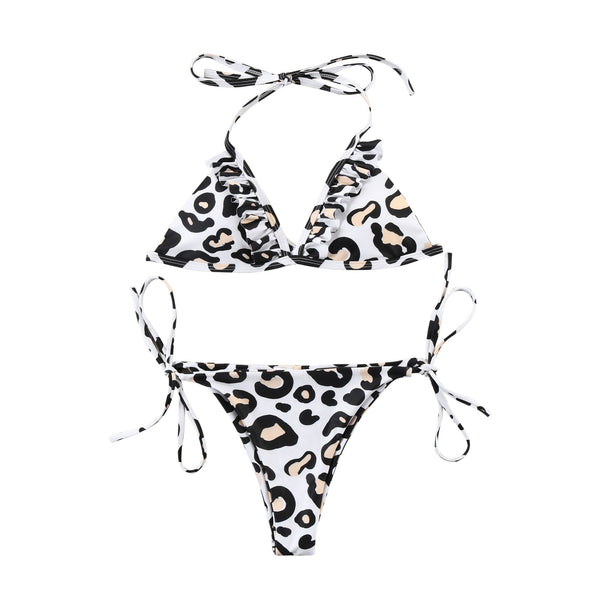 Wild All Summer 2 Piece Bikini - Leopard