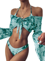 Wild Drama 3 Set Bikini Long Sleeve