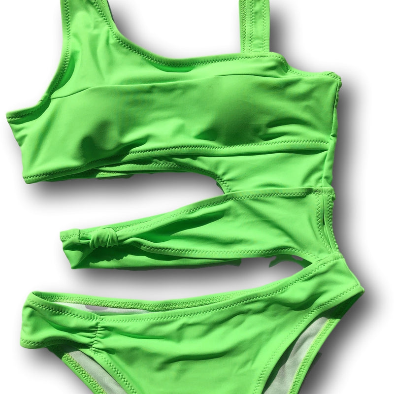 Resort Paradise One Piece Swimsuit GREEN