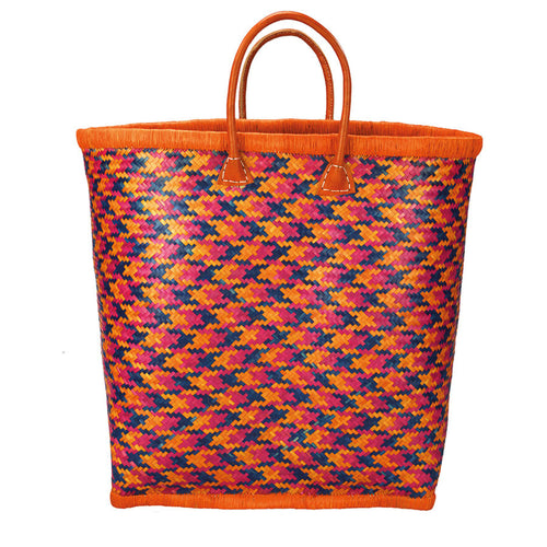 Beach Life Basket in Bird of Paradise Orange - MORE STOCK COMING SOON