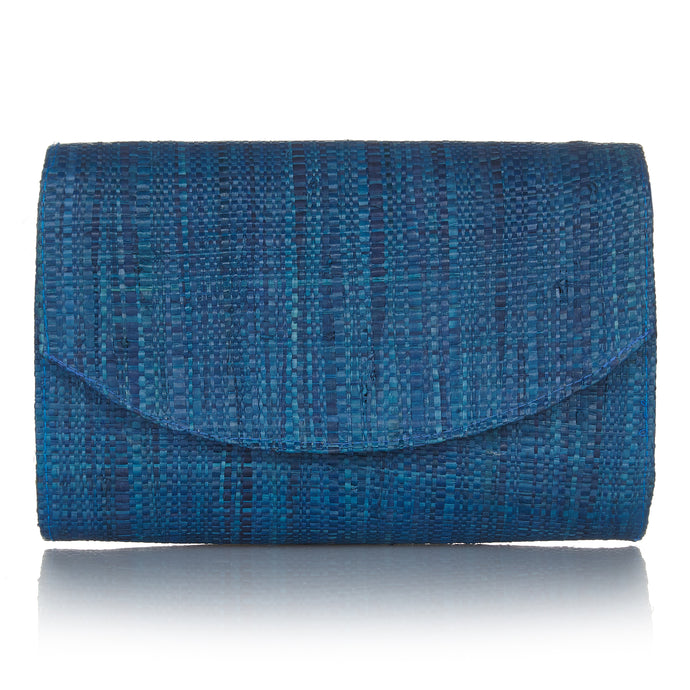 Sundown Clutch in Ocean Blue - Available to ship from 20th January 2020