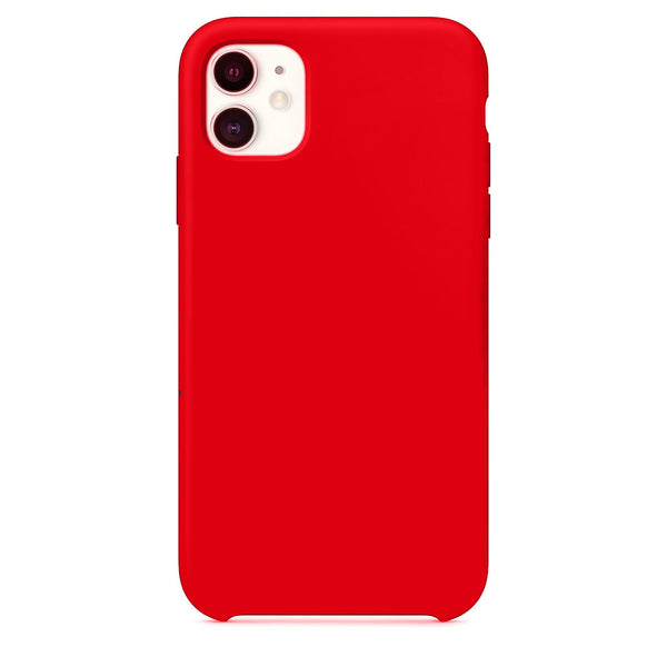 Mercury Silicone Case for iPhone 11 - Red